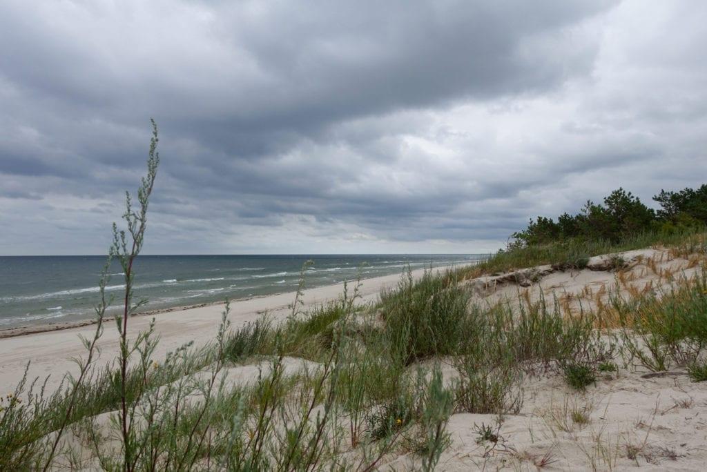 Ostseestrand kurz vor Tagesziel