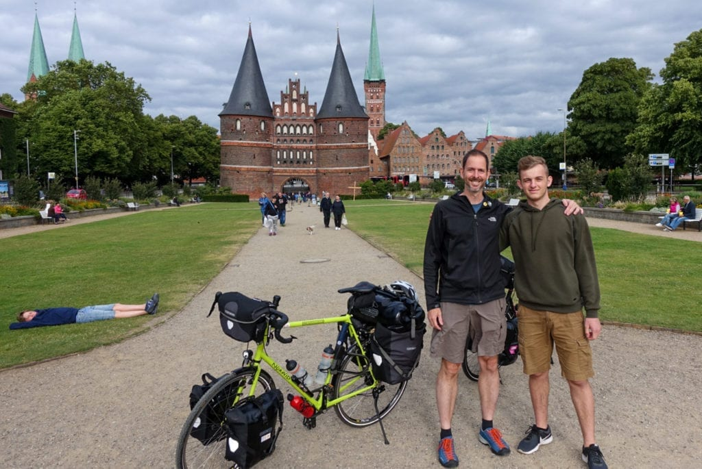 Holstentor. Start der Tour!
