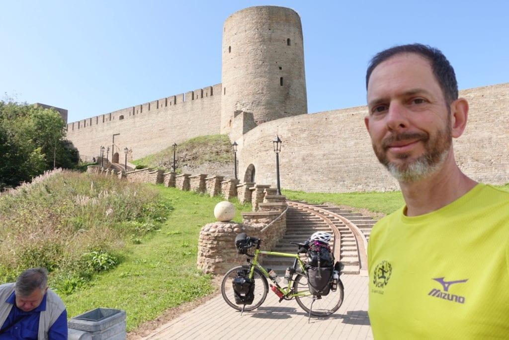 Reiserad vor Ivangorod Castle