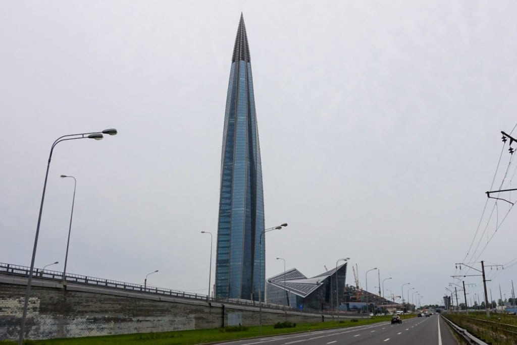 Lakhta Center, Gazprom Tower
