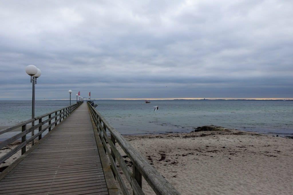 Pier in Haffkrug