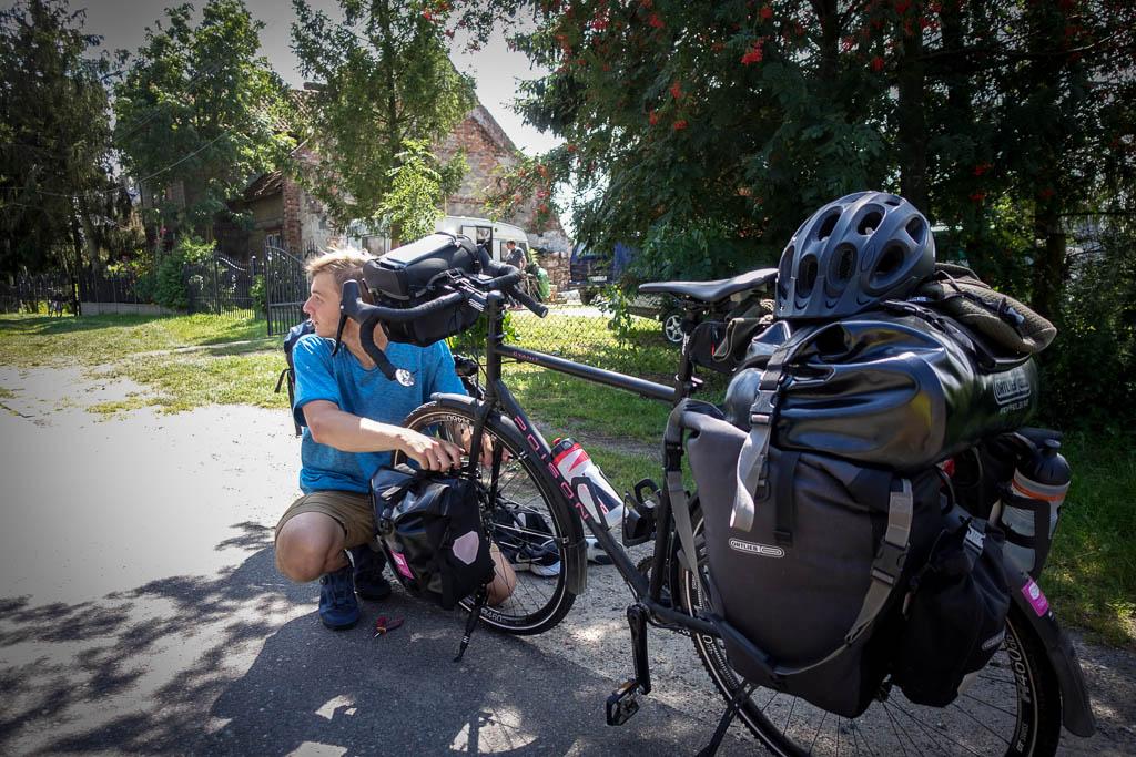 Ersatzteile für Radreisen