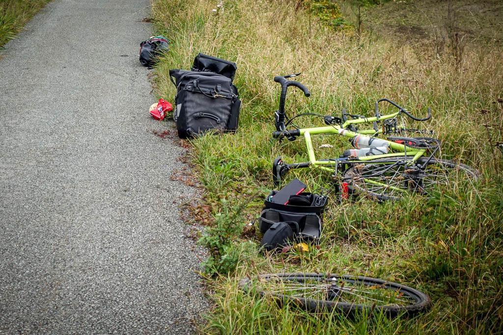 Ersatzteile für lange Radreisen