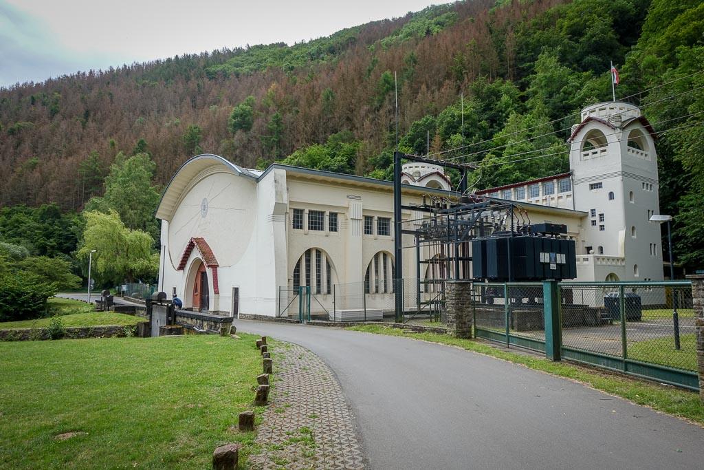 Rurstausee Radtour Wasserkraftwerk Heimbach