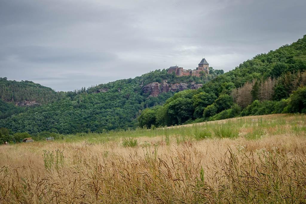 Rurstausee Radtour Burg Nideggen