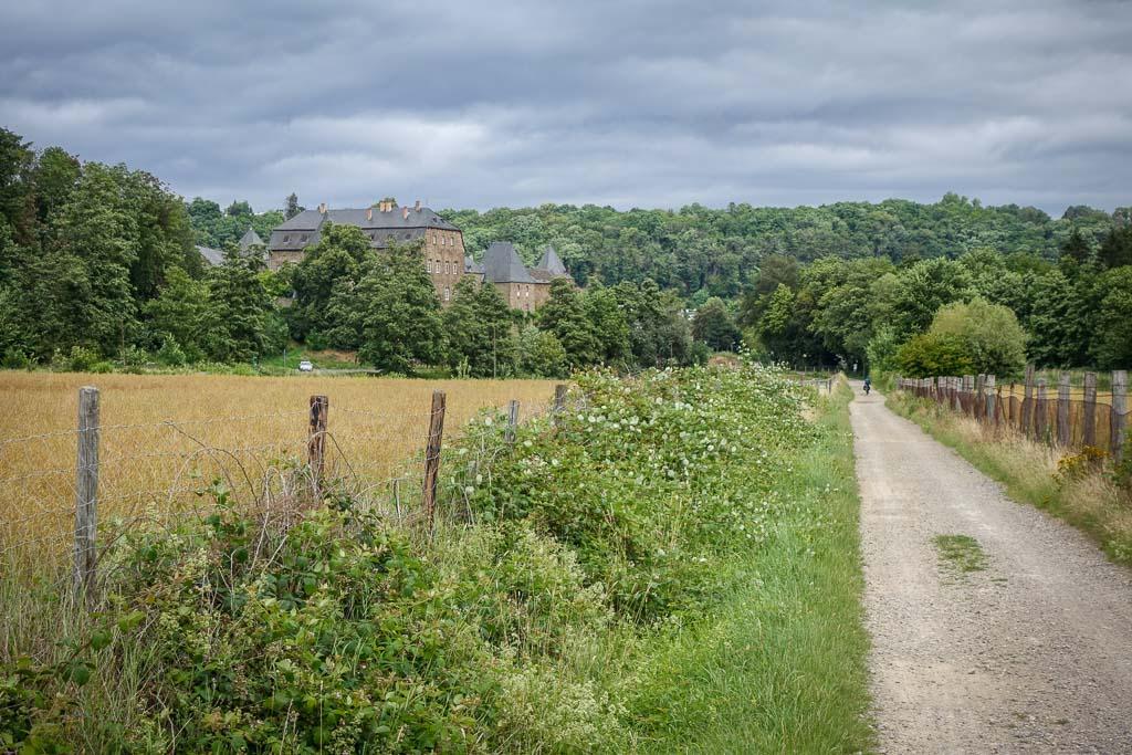 Rurstausee Radtour Burg Untermaubach